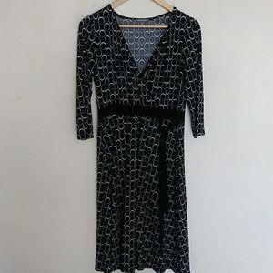 Apt .9 stretch long sleeve dress